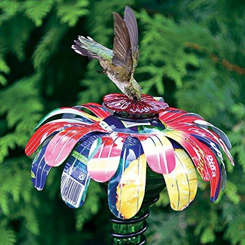 Jackson Perkins Sugar Shack Feeder Hummingbird Flower Stake Don't miss Max 55% OFF the campaign
