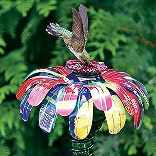 Jackson & Perkins Sugar Shack Flower Stake Hummingbird Feeder