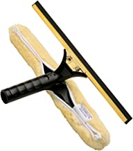 Ettore Professional Brass Backflip Window Cleaning Combo Tool, 18-inch