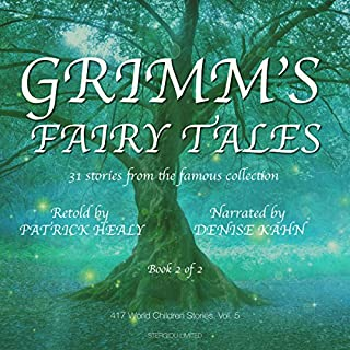 Grimm's Fairy Tales - Book 2 of 2: 31 stories from the famous collection (417 World Children Stories) audiobook cover art