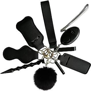 Wristlet Keychain Bracelet,Self Defense Keychain Set for Women