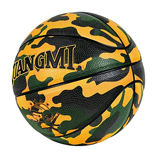 Great Deal! SSLLPPAA Camo Children's Basketball No. 5 Basketball Standard No. 5 Small Basketball Cam...