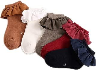 Colorful Childhood Baby Socks Toddler Girls Princess Ruffles Short Socks