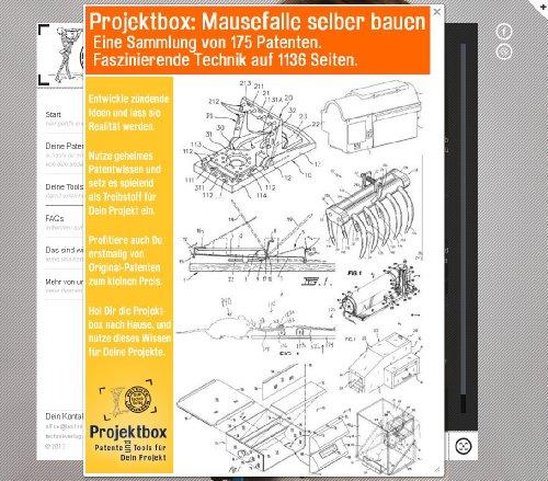 Mausefalle selber bauen: Deine Projektbox inkl. 175 Original-Patenten bringt Dich mit Spaß ans Ziel!