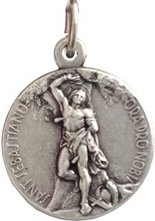 Saint Sebastian Silver Medal - The Patron Saints Medals