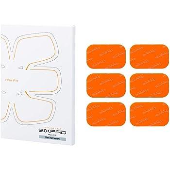 シックスパッド アブズフィット2高電導ジェルシート(SIXPAD Abs Fit2) MTG【メーカー純正品】