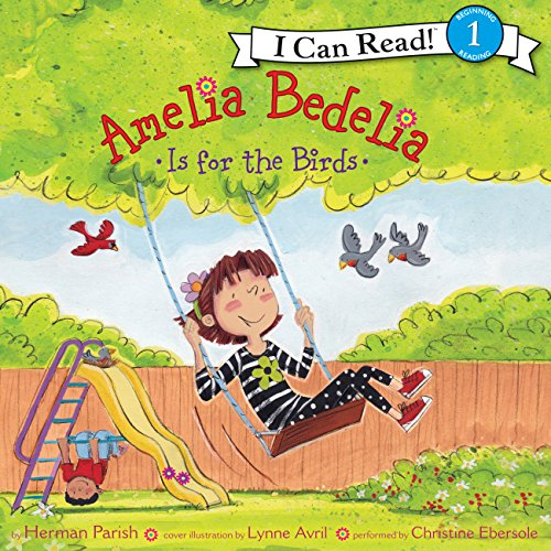 Amelia Bedelia Is for the Birds audiobook cover art