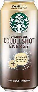 Starbucks Double Shot Energy Drink, Vanilla, 12 Count