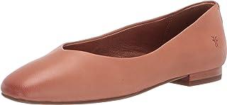 Frye Women's Dana Ballet Flat, Light Rose, 7.5