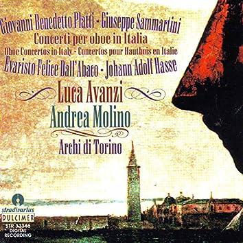 Platti, Dall'Abaco, Hasse & Sammartini: Concerti for Oboe