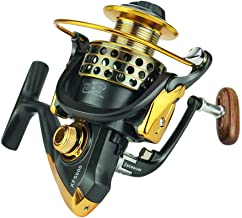 Zeceouar Lightweight Spinning Reel Fast Speed Sturdy Fishing Reels with Stainless Steel ,High Performance 13+1 Ball Bearings 5.5:1 Gear Ratio,Smooth Fishing Reels Freshwater Lake
