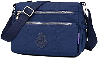 Nylon Handbag Crossbody Bag Lightweight Multi-pocket Shoulder Bag Wallet