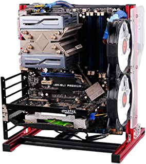PC Test Bench Open Frame for ATX MATX Motherboard Aluminum Acrylic Computer Case DIY Mod Host Stand ATX ITX