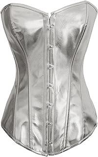Alivila.Y Fashion Corset Women's Faux Leather Steel Boned Corset