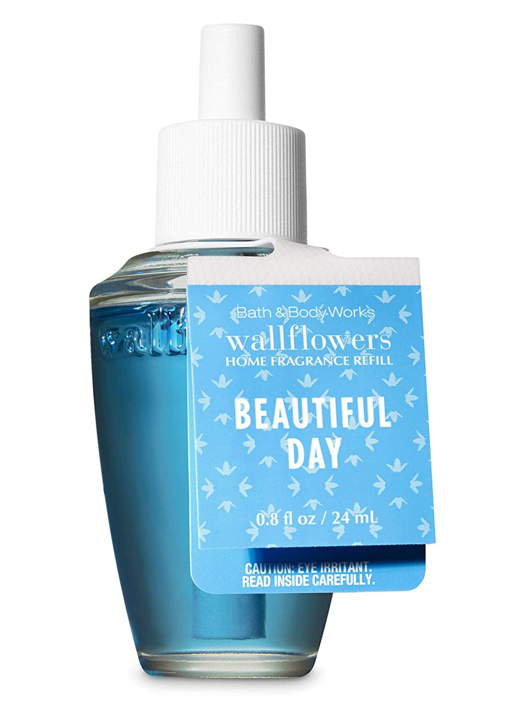 退院はちみつ中毒【Bath&Body Works/バス&ボディワークス】 ルームフレグランス 詰替えリフィル ビューティフルデイ Wallflowers Home Fragrance Refill Beautiful Day [並行輸入品]