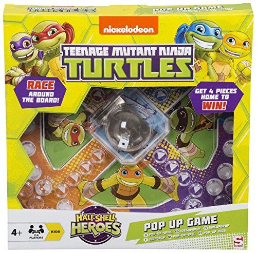 Teenage Mutant Ninja Turtles Pop Up Game Frustration Family Board Game TMNT by TMNT