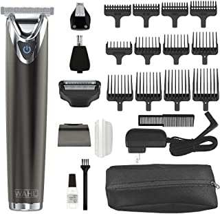 Wahl Clipper Slate Stainless Steel Lithium Ion Plus Beard Trimmers for Men Electric Shavers Nose Ear Trimmers Rechargeable...