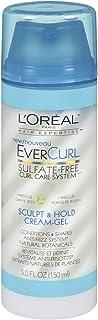 L'Oreal Paris EverCurl Sculpt and Hold Cream Gel, 5.0 Fluid Ounce