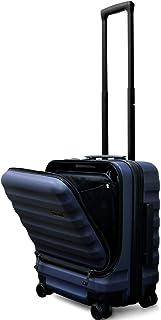 Endless Trip スーツケース 機内持込 MAXサイズ フロントオープン 軽量 サイド 滑り止め 40L 1-4泊 LCC対応 オールPC素材 マット加工 多収納ポケット 静音 ダイヤル式 TSAロック 8輪 キャスター トップオープン...