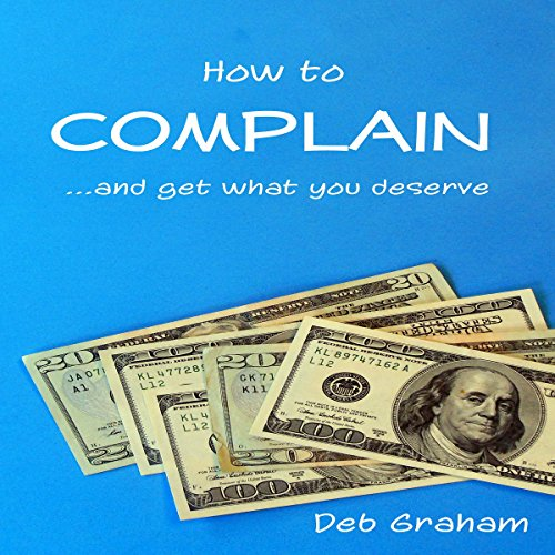 How to Complain audiobook cover art
