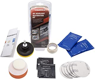 Mookis Kit Restaurador De Faros Kit de Restauración de Lente de Faros Vehicle Headlight Restoration Kit