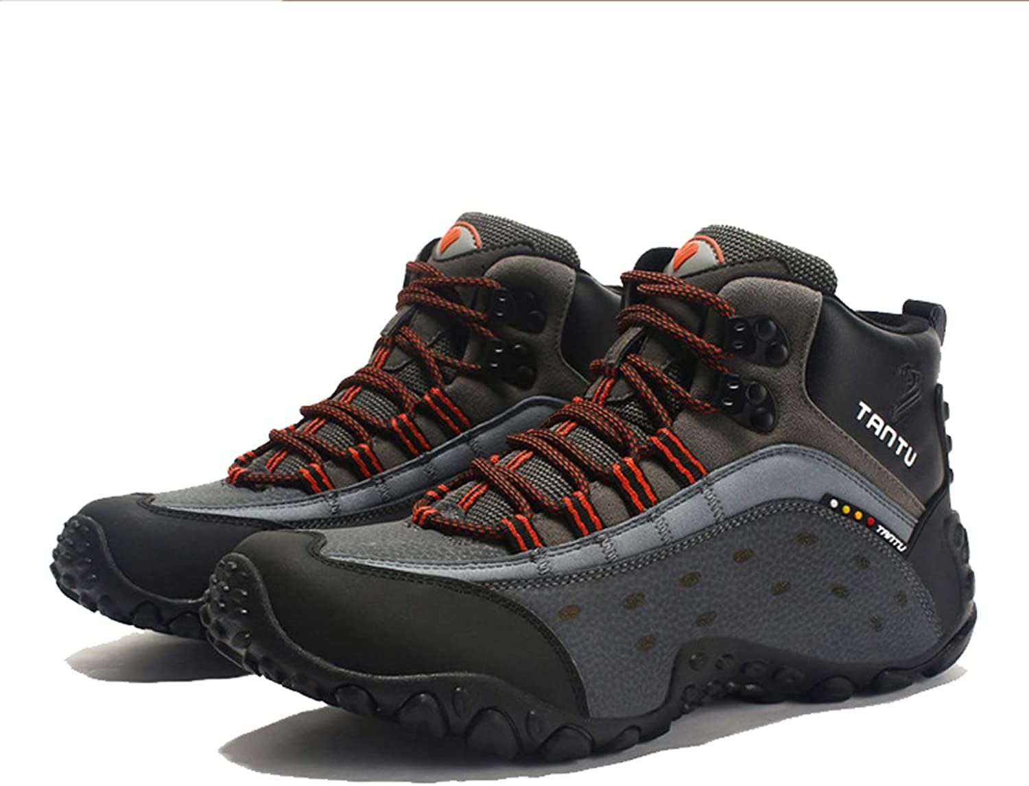 Mens Training Boots Lightweight Hiking shoes for Autumn and Winter Desert Boots Non Slip Breathable Outdoor shoes,B,42EU