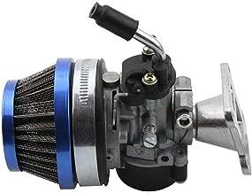 Carb Carburetor Air Filter Assembly Replacement for 49cc 50cc 60CC 66CC 70cc 80cc 2 Stroke Engine Rcooter Motorized Bicycle,Mini Pocket Bike,Quad Chopper ATV