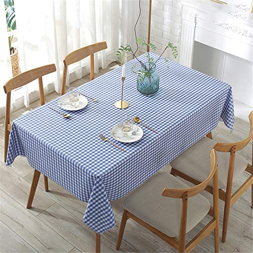 Oukeep Mantel De PVC Impermeable, Anti-Escaldado Y Anti-Aceite Alfombrilla Nórdica Sin Limpieza Adecuado para Escritorio, Mesa De Comedor, Mesa De Café