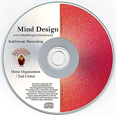 Get Organized! End Clutter Subliminal CD with NLP (Neurolingustic Programming)