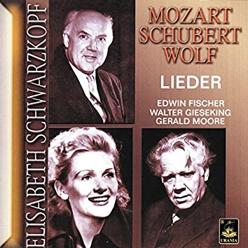 Mozart, Schubert, Wolf: Lieder