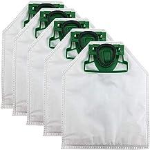 Carkio Dust Bag Garbage Bag Accessories Fits for Volvic Vorwerk VK200 Vacuum Cleaner (Pack of 5)