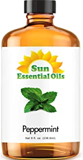 Peppermint Essential Oil (Huge 8oz Bottle) Bulk Peppermint Oil - 8 Ounce