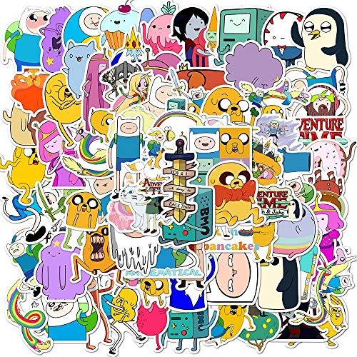 FSVGC Doodle Sticker Cartoon Sticker Adventure Time Phone Case Skateboard Luggage Super Sticker 100Pcs
