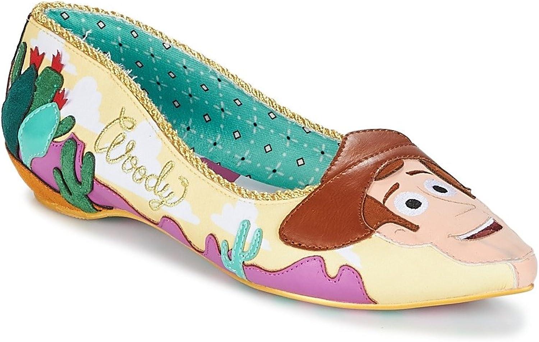Irregular Choice Disney Toy Story Round up Gang Pink Yellow Flat shoes Size