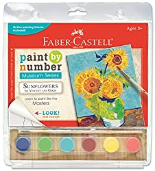 Faber-Castell Paint by Number Sunflowers