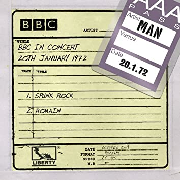 Man - BBC In Concert (20th January 1972)