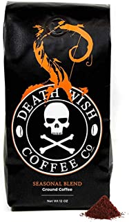 Death Wish Coffee Organic Pumpkin Spice Coffee - 12 oz Bag (Ground)
