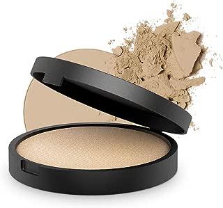 INIKA Baked Mineral Foundation Powder All Natural Make-up Base, Vegan, Hypoallergenic, Dermatologist Tested, Halal, 8g (Nurture)