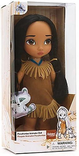 Disney Pocahontas officiel 38cm Animator Toddler Doll Avec des accessoires Meeko