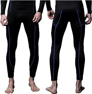 Mens MAXHEAT Soft Fleece Seamless Stretch Thermal Underwear Bottom