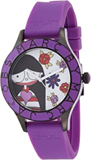 Marc by Marc Jacobs Women's Multi Color Dial Silicone Band Watch - MBM5514