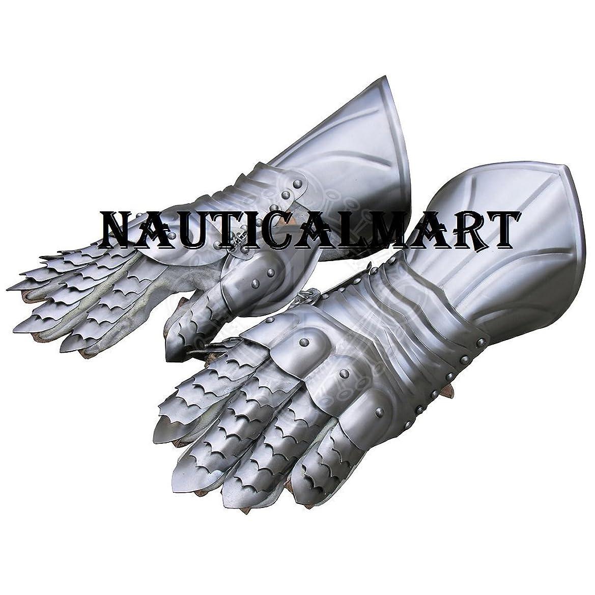 道遺伝子ボイコットNAUTICALMART 中世の騎士 スチールアーマー手袋