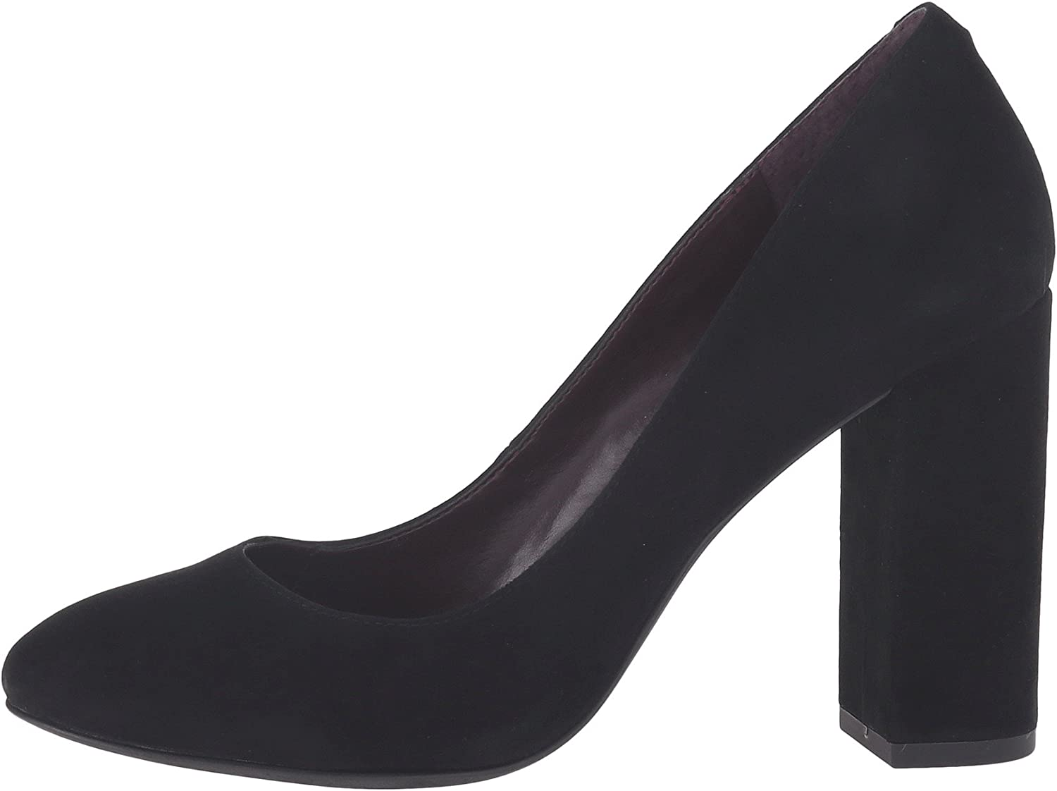 BCBGeneration Womens Franka Suede Closed Toe Classic, Black Suede, Size 7.0