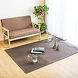 Fenfen PE Mat Puzzle Mosaic Crawler Mat Dormitorio para niños Tatami Floor Mat 6 / Bolsa, Azul/Verde / Amarillo/Rojo / Powder/m / Brown, 60x60 * 1.2cm (Color : Brown)