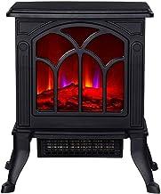 FCXBQ Chimenea de Gas Estufa eléctrica Chimeneas, Quemador de leña Estufa de Fuego eléctrica Chimenea eléctrica Independiente Estufa de Interior Estufa Estufa de leña Estufa eléctrica Protección c