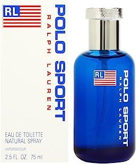 Polo Sport by Ralph Lauren for Men Eau de Toilette Natural Spray 2.5 Ounce