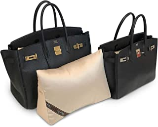 Bag-a-Vie Purse Pillow Shaper Insert - Luxury Purse and Handbag Shapers - Fits Birkin & Kelly Bags