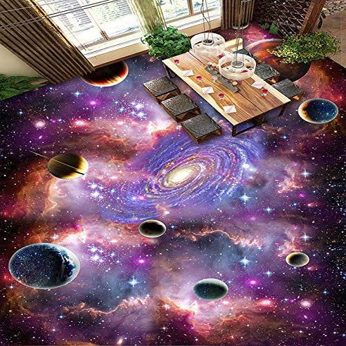 Eahujflg Adesiva per Mobili 3Dfantasia Moderna Personalizzata 3D Cielo Cosmico Galaxy Piano Carta da...