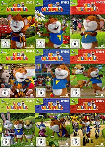 Leo Lausemaus 1 - 9 Die komplette Serie [9-DVD]