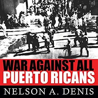 War Against All Puerto Ricans audiobook cover art